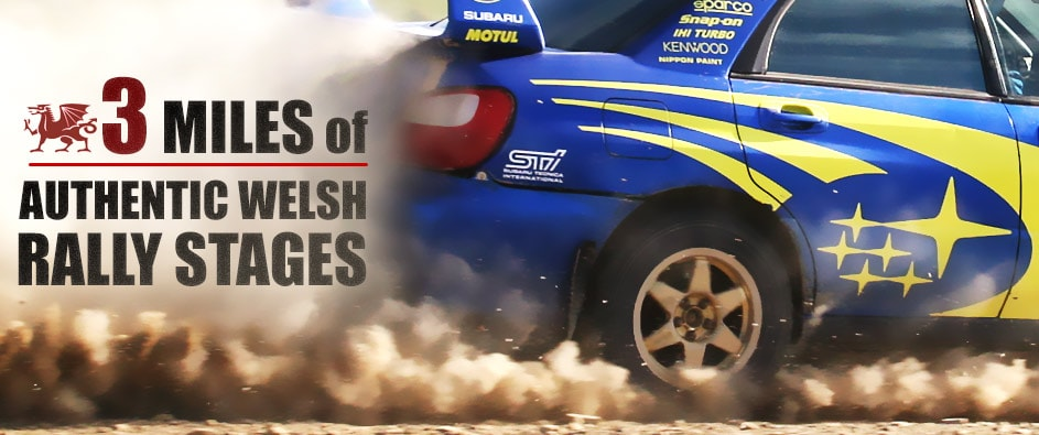 genuine welsh forest rally stages